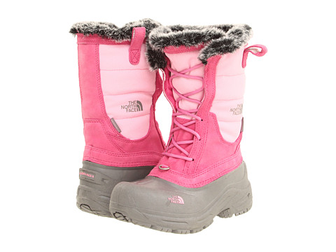 The North Face Kids - Shellista Lace (Toddler/Little Kid/Big Kid) (Begonia Pink/Q-Silver Grey) Girls Shoes