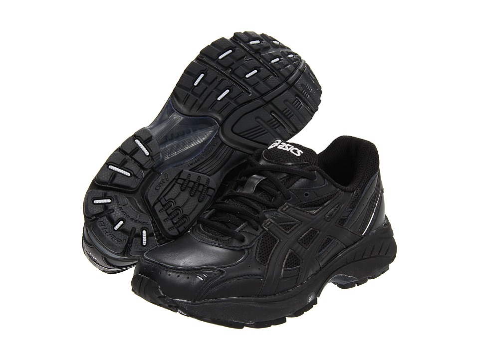 ASICS - GEL-Foundation Walker 2 (Black/Black/Silver) Women's Walking Shoes