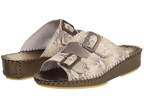 La Plume - Jen (Beige Python) Women's Sandals