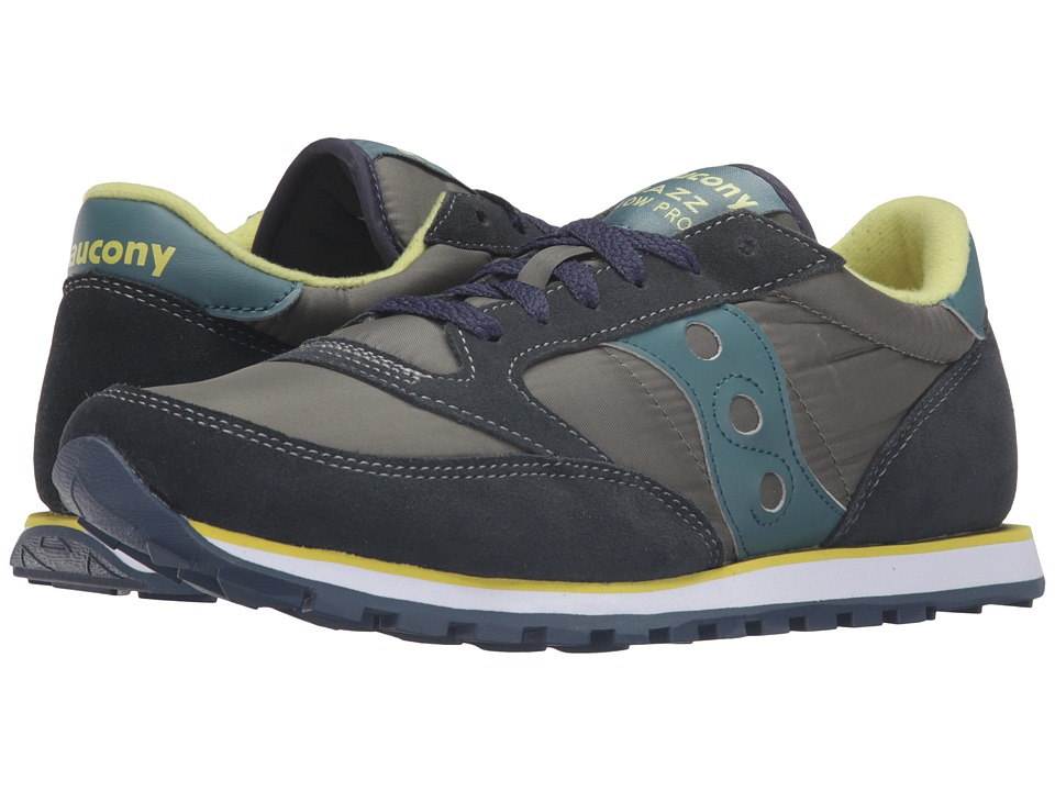 Saucony Originals - Jazz Low Pro (Green) Men's Classic Shoes