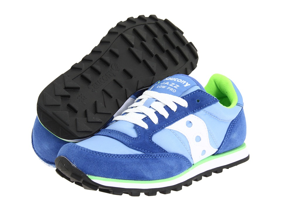 Saucony Originals - Jazz Low Pro (Blue) Women's Classic Shoes