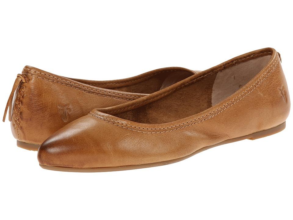 Frye - Regina Ballet (Camel) Women's Slip on Shoes