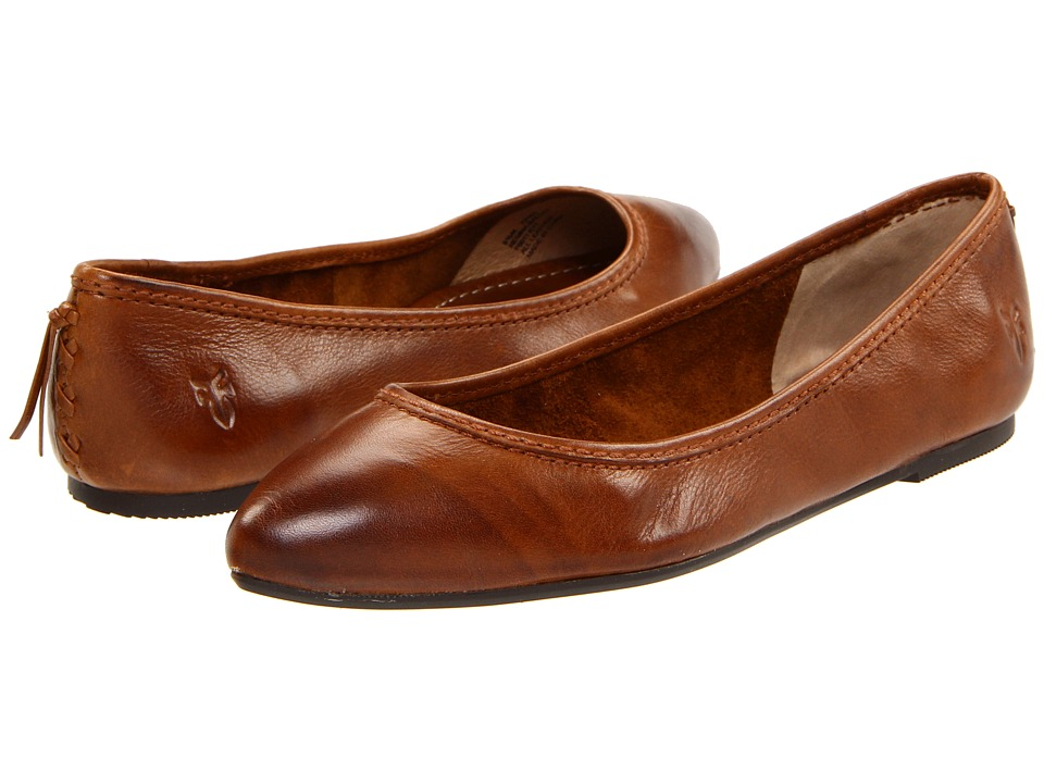 Frye - Regina Ballet (Cognac) Women's Slip on Shoes