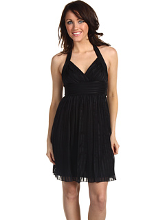 SALE! $129.99 - Save $128 on BCBGMAXAZRIA Short Halter Dress (Black) Apparel - 49.62% OFF $258.00