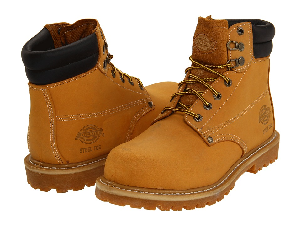 Dickies - Raider Steel Toe (Wheat) Men's Work Boots