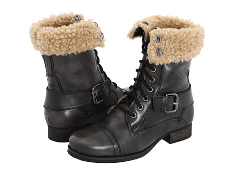 Diba - Miss You (Black) Women's Lace-up Boots