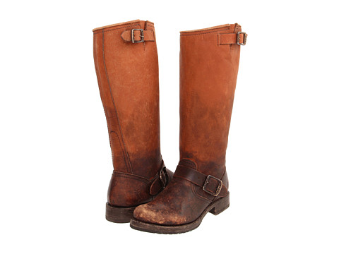 Frye - Veronica Slouch (Cognac Stone Wash) Women's Pull-on Boots