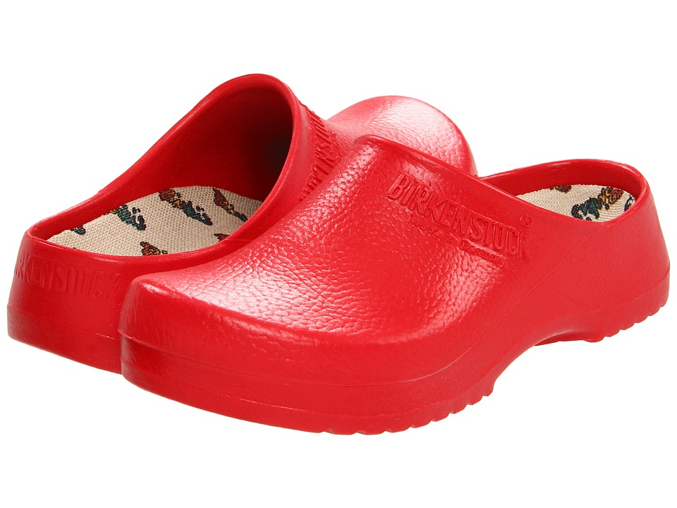 Birkenstock Super Birki by Birkenstock (Red) Clog Shoes