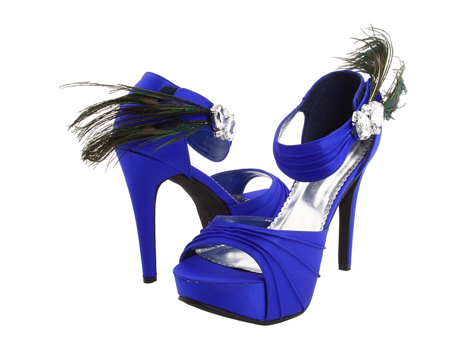 Touch Ups - Peacock (Blue Silk) Women's Bridal Shoes