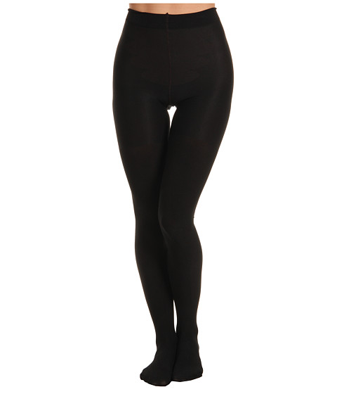 Spanx - Tight-End Tights Reversible (Black/Bittersweet Brown) Hose
