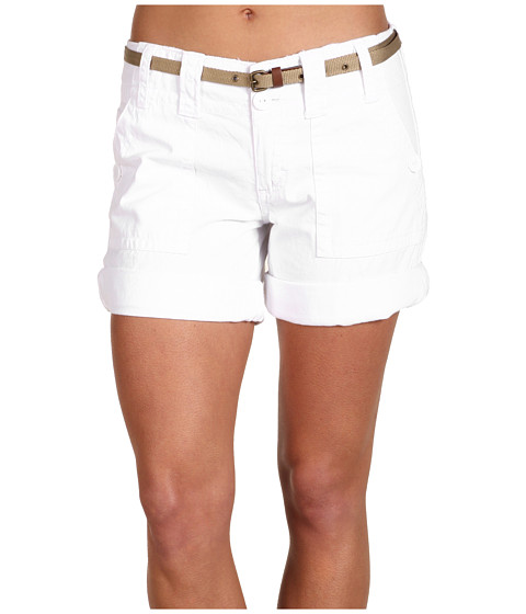 Sanctuary - Peace Short (White) Women's Shorts