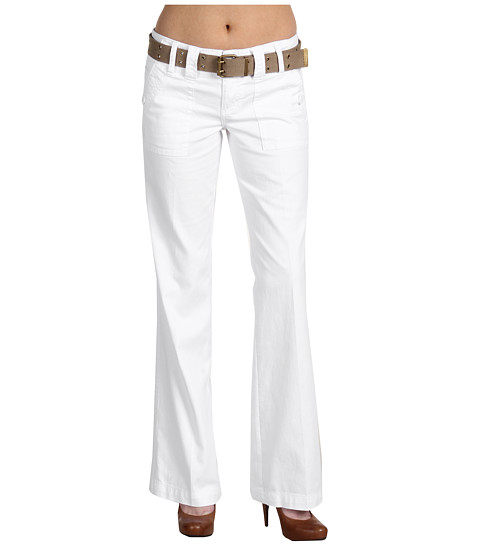 Sanctuary - Peace Pant (White) Women's Casual Pants