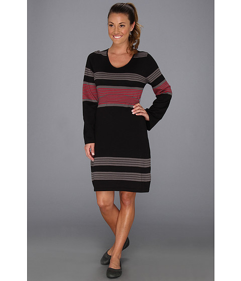 Prana - Sydney Sweater Dress (Black) Women's Dress
