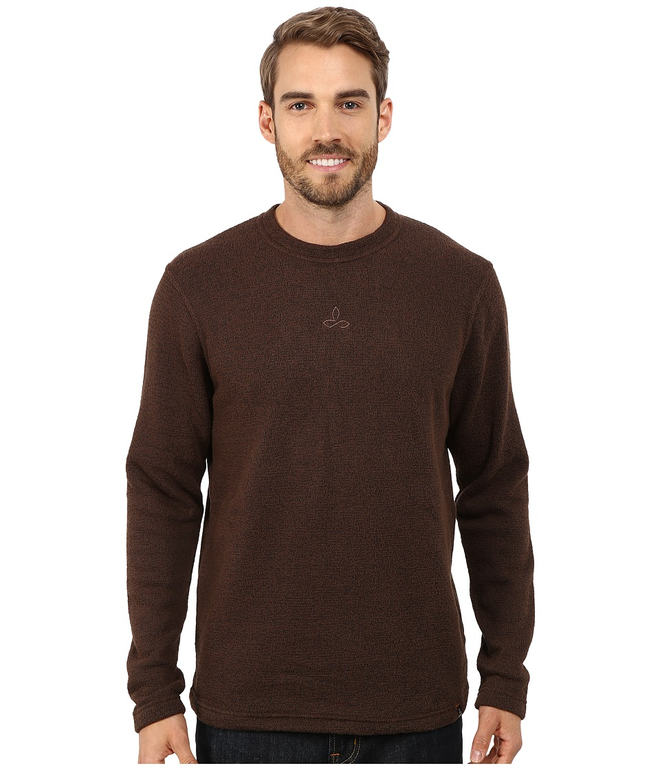Prana - Sherpa Crew (Brown) Men