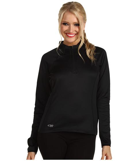 Outdoor Research - Radiant LT Zip Top (Black) Women's Clothing