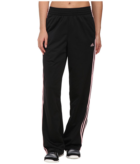 adidas - 3-Stripes Pant (Black/Diva) Women's Workout
