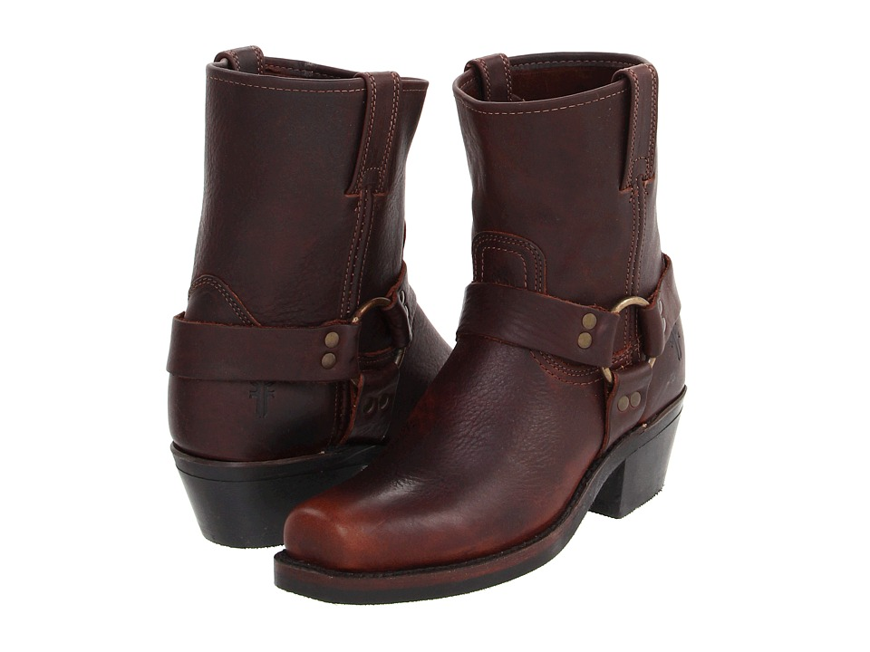 Frye - Harness 8R W (Blazer Brown Leather) Women's Boots