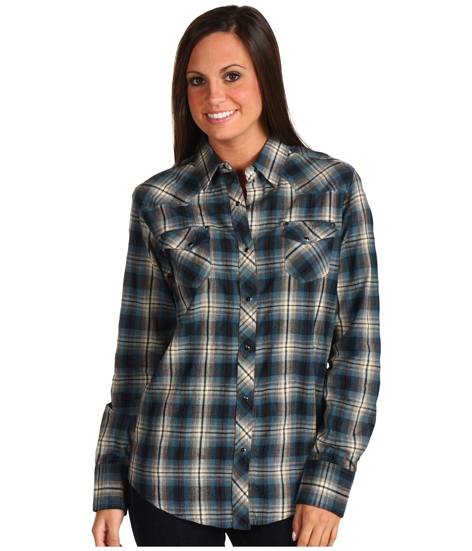 Kuhl - Sheridan L/S Shirt (Indian Teal) Women's Long Sleeve Button Up