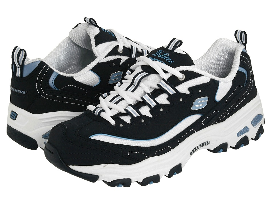 SKECHERS - Extreme (Navy/White) Women's Lace up casual Shoes