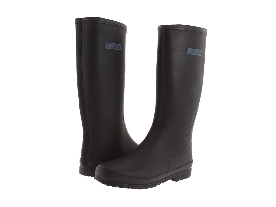 Tretorn - Kelly Vinter - Rubber Rain Boot (Black) Women