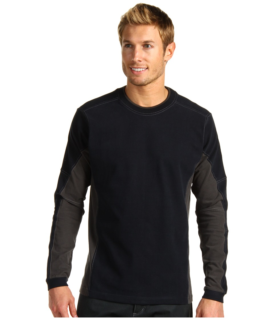 Kuhl - Kontendr L/S Pullover (Midnight Blue) Men's T Shirt