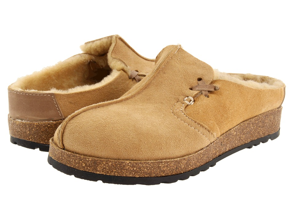 Haflinger - Saskatchewan (Tan) Women's Clog Shoes