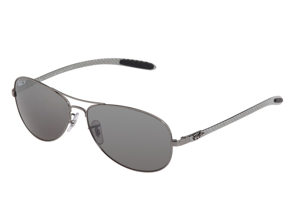 Ray-Ban - 0rb8301 (Shiny Gunmetal) Fashion Sunglasses
