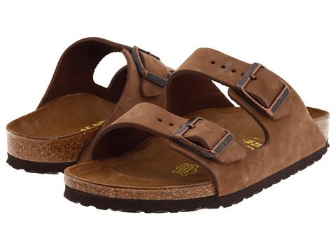 Birkenstock - Arizona - Nubuck (Unisex) (Cocoa Nubuck) Sandals