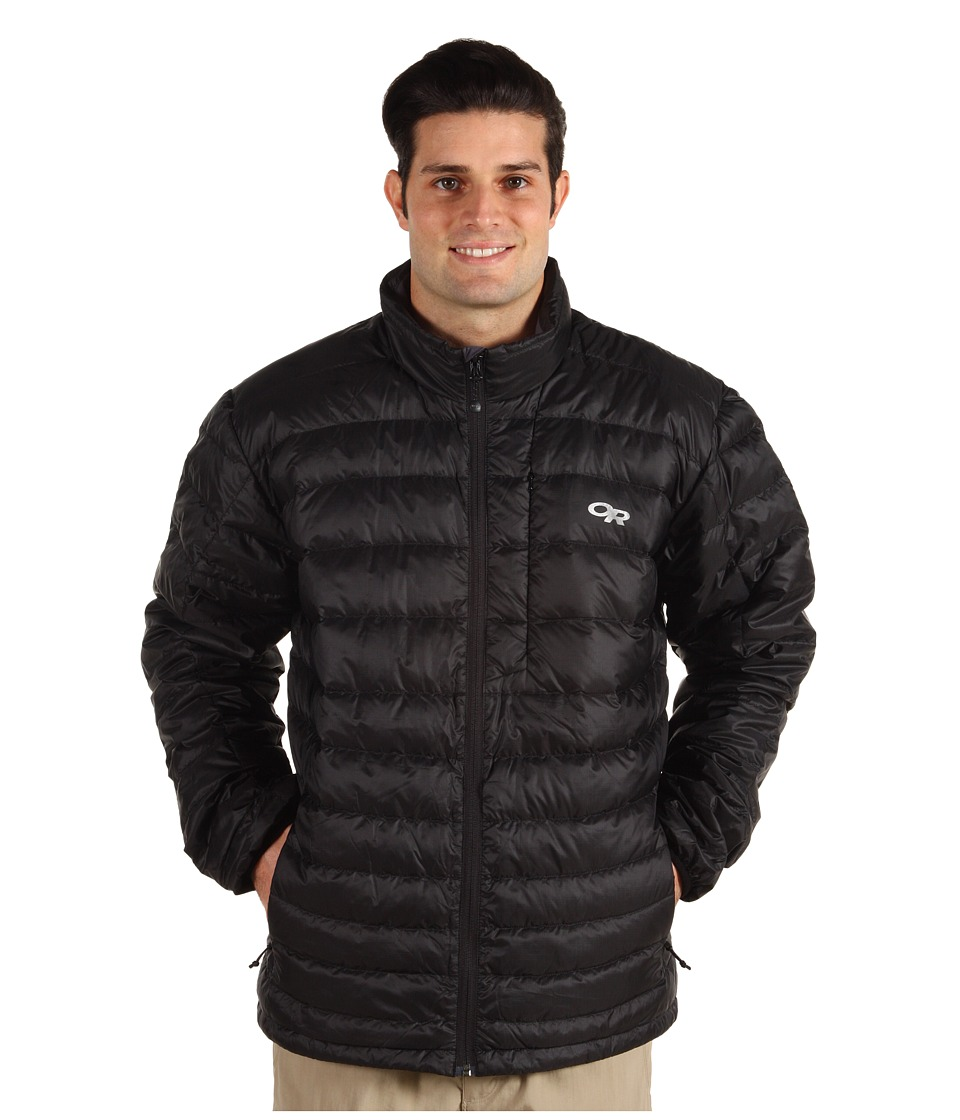 Outdoor Research - Transcendent Sweater (Black) Men's Coat