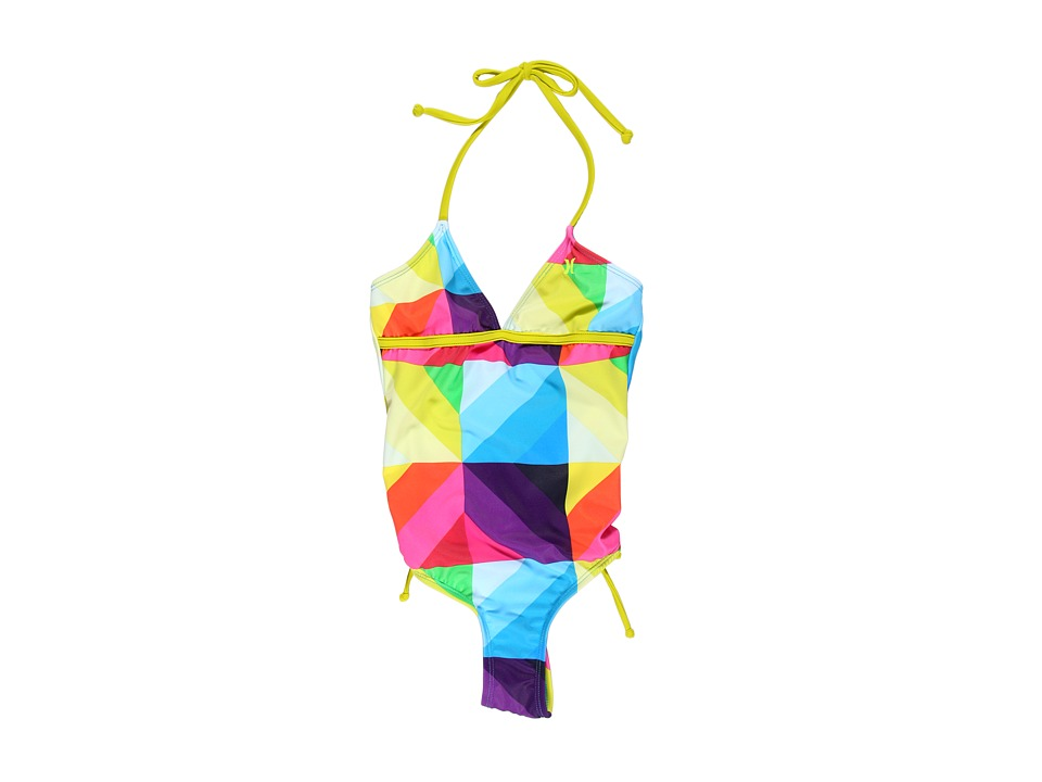 Hurley Kids - Disolve One Piece (Big Kids) (Multi) Girl's Swimsuits One Piece