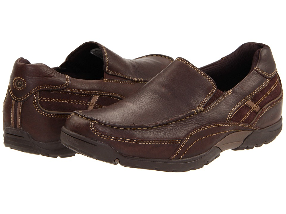 Rockport - City Trail Venetian (Dark Brown) Men's Slip on Shoes