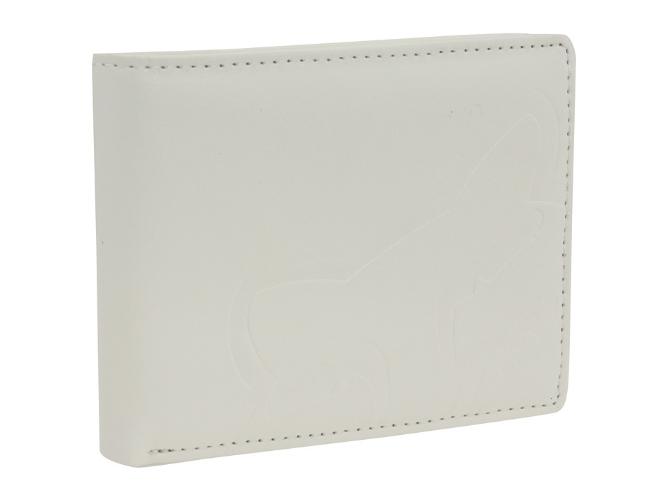 Fox - Core Wallet (White) Bill-fold Wallet