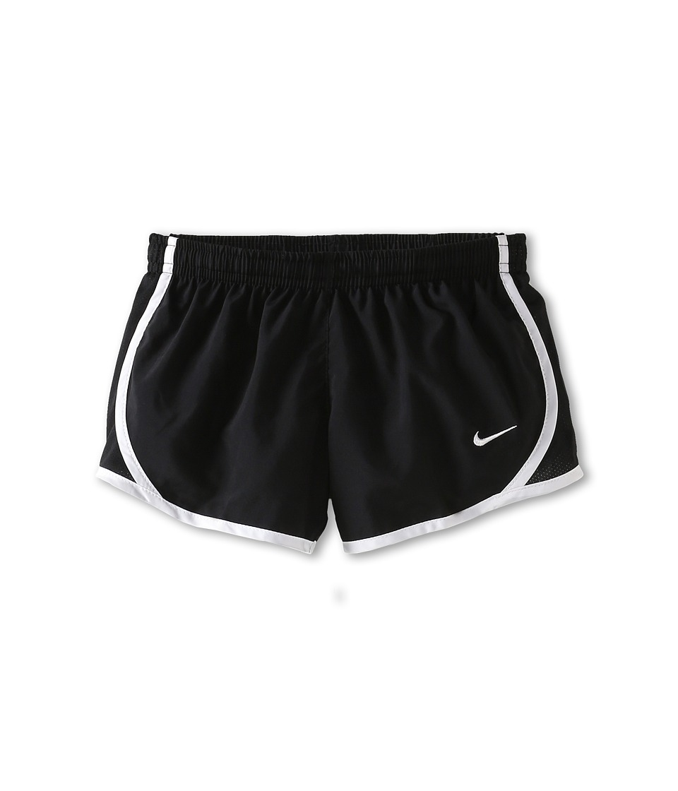 Nike Kids - Tempo Short (Little Kids/Big Kids) (Black/Black/White/White) Girl's Shorts