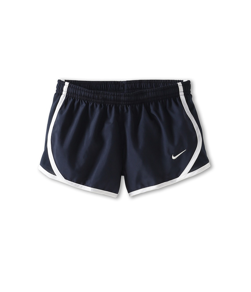 Nike Kids - Tempo Short (Little Kids/Big Kids) (Obsidian/Obsidian/White/White) Girl's Shorts