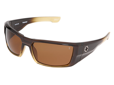 Spy Optic - Dirk Polarized (Bronze Fade/Bronze Polarized Lens) Sport Sunglasses