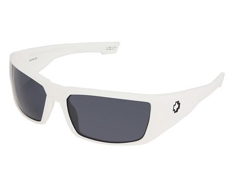 Spy Optic - Dirk (Matte White/Grey Lens) Sport Sunglasses
