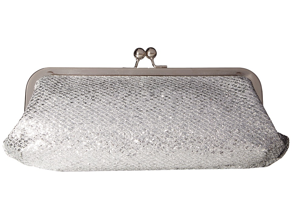 Touch Ups - Farah Clutch (Silver) Handbags