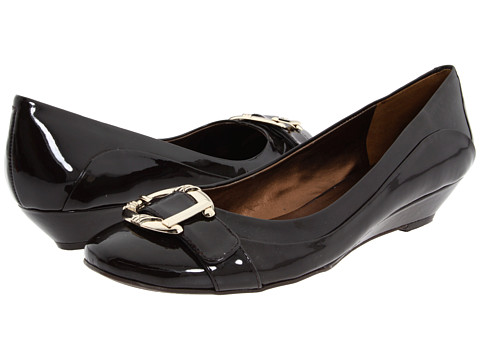 Shop Nine West online and buy Nine West - Caged 3 (Dark Brown Synthetic) Women's Flat Shoes shoes online