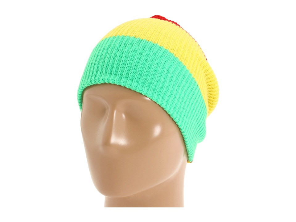 180a57fbfc1 UPC 846490021534 product image for Neff Trio Beanie (Rasta) Beanies
