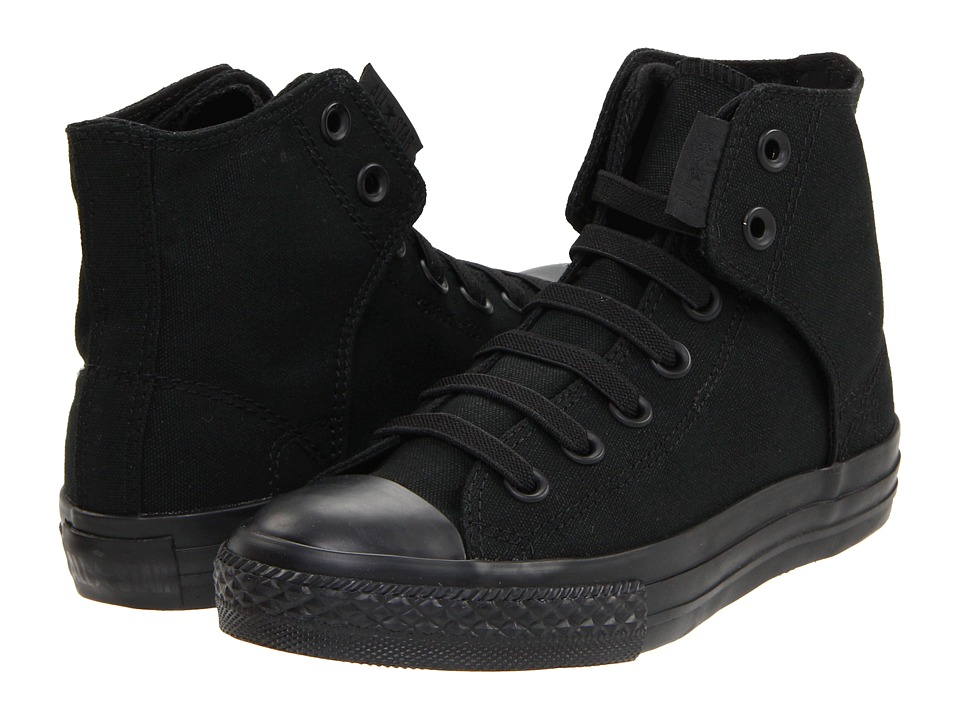 Converse Kids Chuck Taylorreg All Starreg Easy Slip (Little Kid/Big Kid) (Mono Black) Boys Shoes