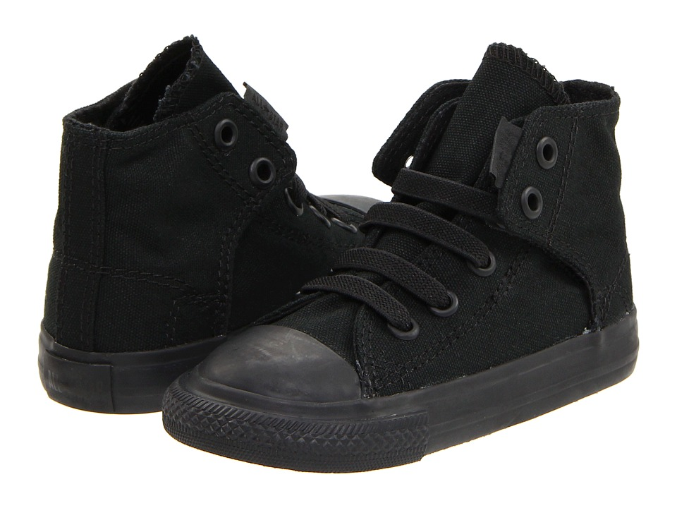 Converse Kids - Chuck Taylor(r) All Star(r) Easy Slip (Infant/Toddler) (Mono Black) Kids Shoes