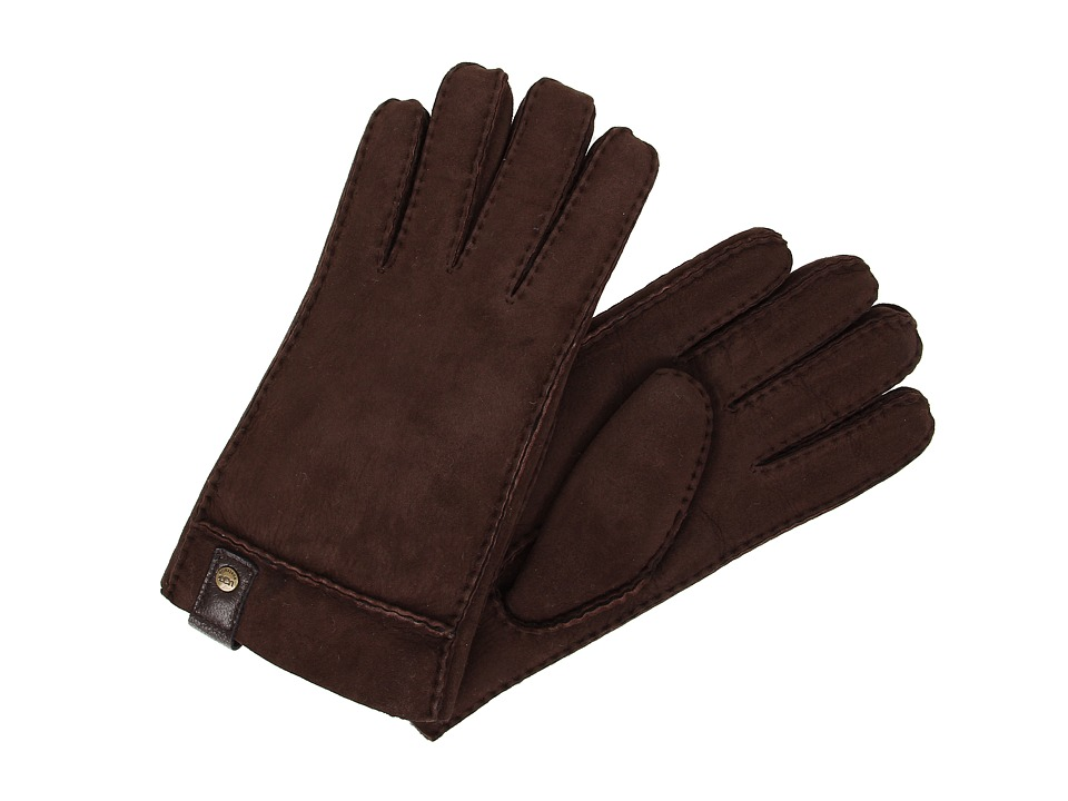 UGG - Sidewall Glove w/Tab (Chocolate) Extreme Cold Weather Gloves