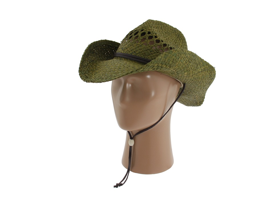 San Diego Hat Company - RHC Cowboy Hat (Green) Traditional Hats