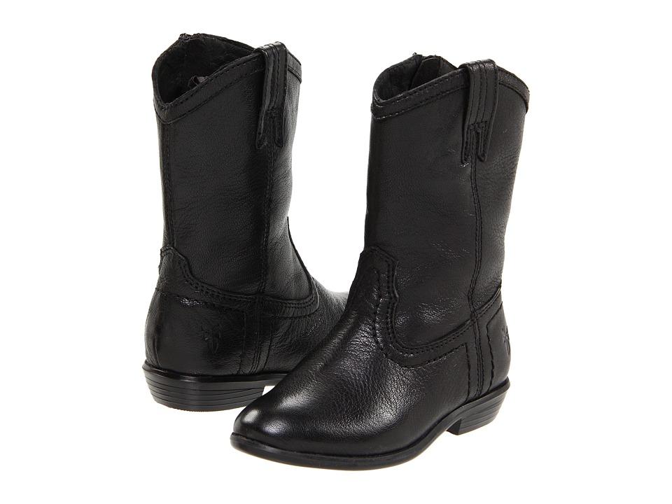 Frye Kids - Carson Pull On (Toddler) (Black) Kids Shoes