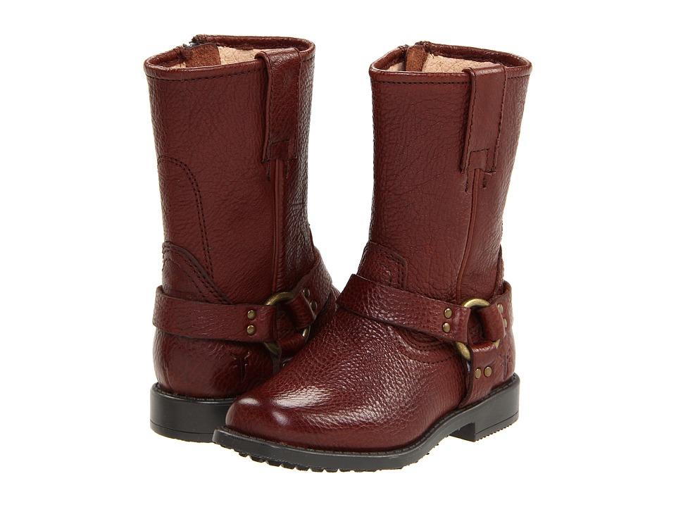 Frye Kids - Harness Pull On (Toddler) (Dark Brown) Kids Shoes