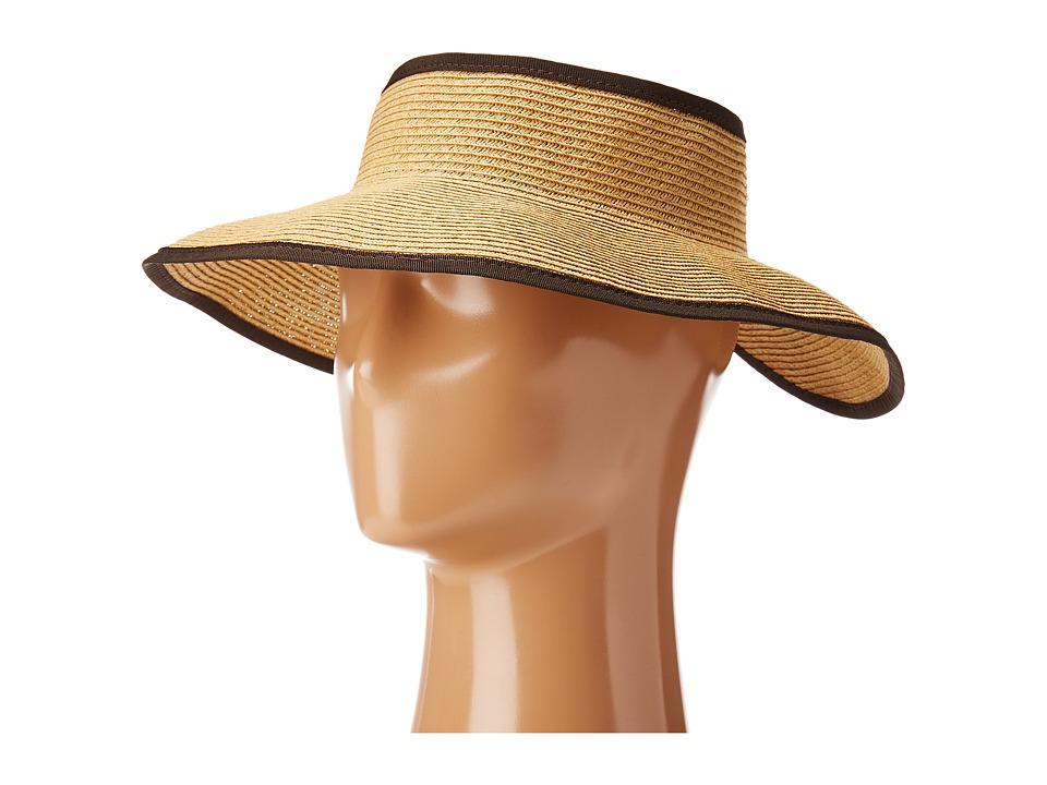 San Diego Hat Company - UBV002 Sun Hat Visor (Camel) Casual Visor