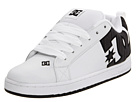 DC - Court Graffik SE (White/Black/Dark Grey) - Footwear