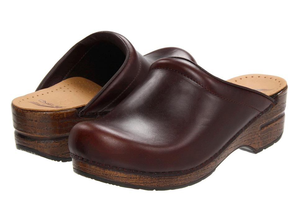 Dansko - Sonja (Espresso Oiled Full Grain) Women's Clog Shoes