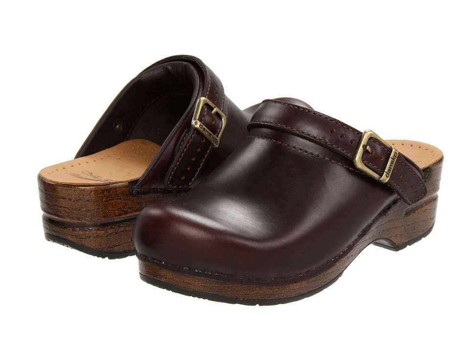 Dansko - Ingrid (Espresso Oiled Full Grain) Women's Clog Shoes