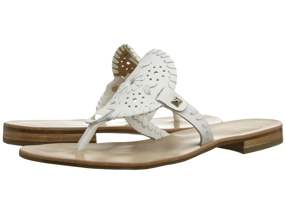Jack Rogers - Georgica (White) Women's Sandals